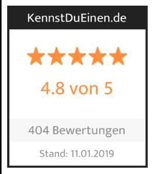 Kundenbewertungen bei Kennst Du Einen: 4,8 von 5 Sternen